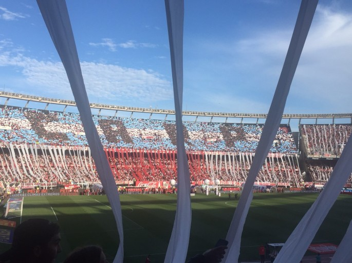 Superclasico at El Monumental, November 5th 2017