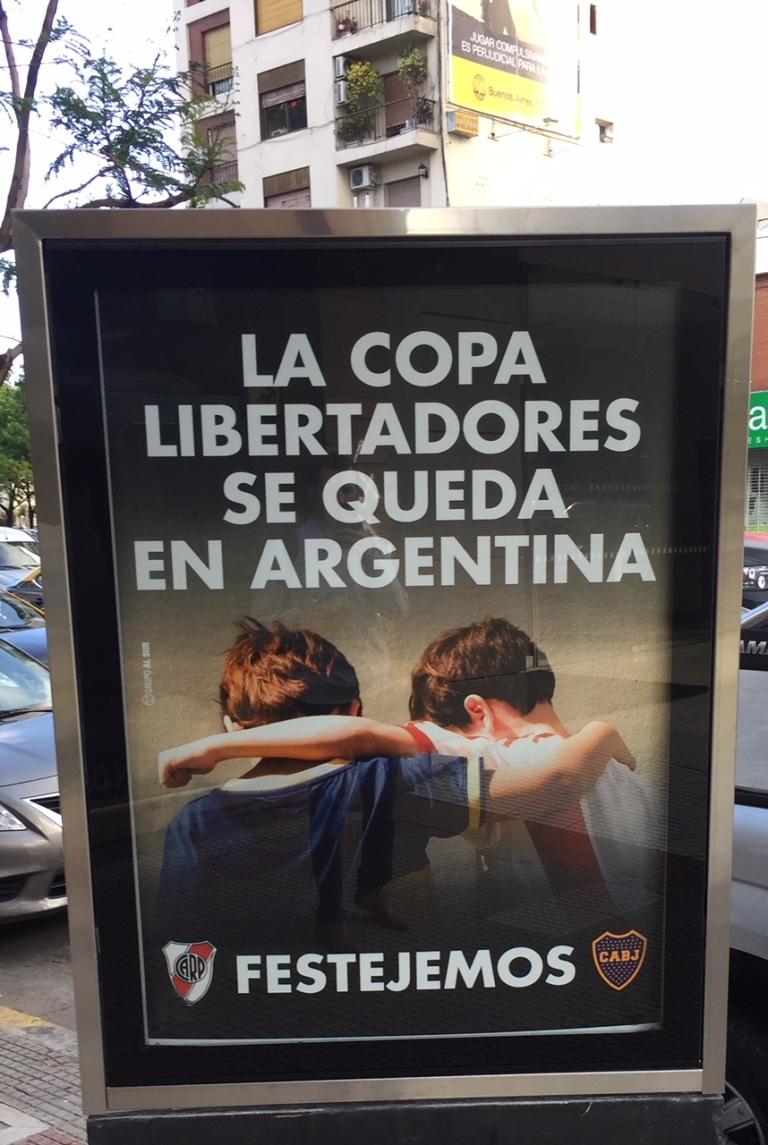 Superclasico Libertadores final